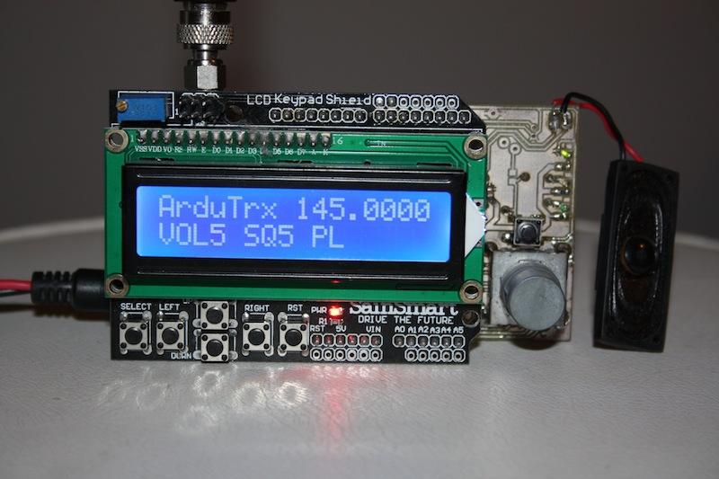ArduTrx - Arduino mit DRA818-Shield