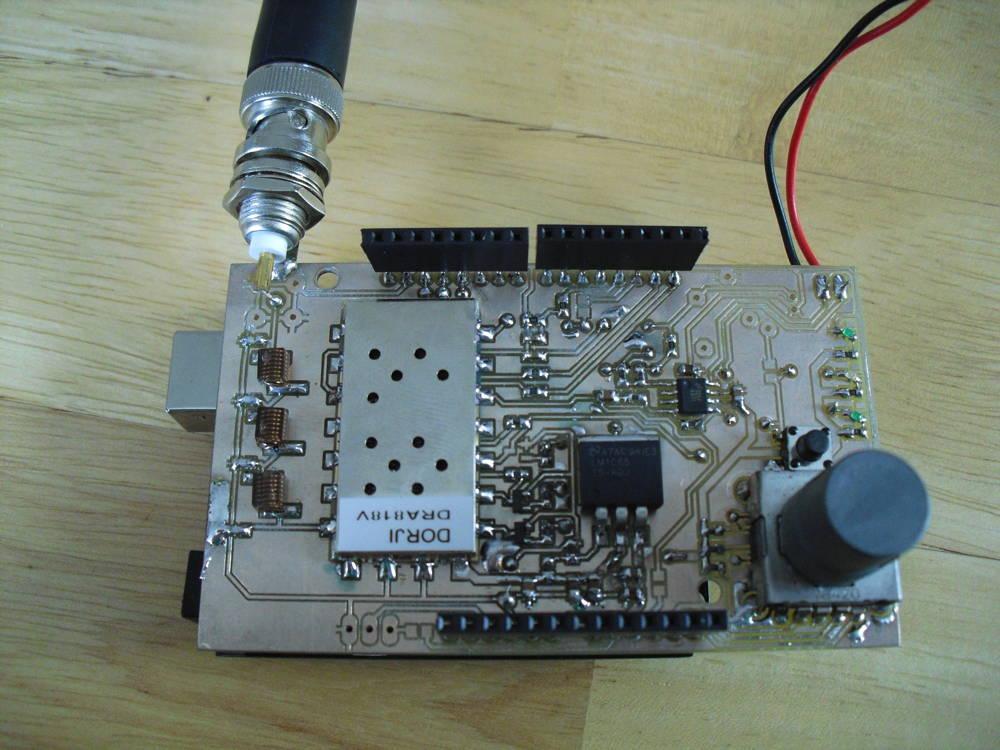 Arduino DRA818 Shield