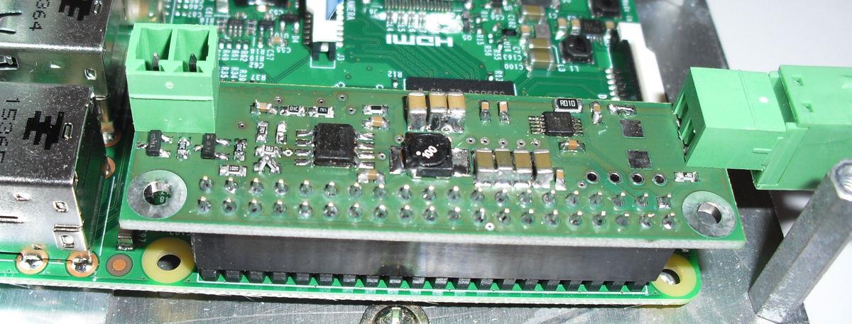 Stromversorgung für den Raspberry Pi